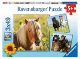 Набор пазлов Ravensburger Пони (08011)