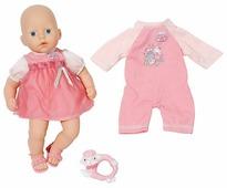 Кукла Zapf Creation Baby Anabelle с набором одежды 36 см 794-333