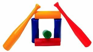 Игровой набор Строим вместе счастливое детство Городки (5035)