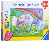Набор пазлов Ravensburger Радужные лошади (09193)