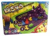 Кинетический песок Danko Toys Набор Kidsand 3 цвета с песочницей