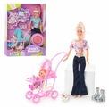 Набор кукол Defa Lucy Мама с малышом 29 см 20958