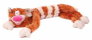 Мягкая игрушка Fancy Кот Бекон рыжий 15 см