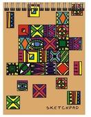 Альбом Канц-Эксмо Paper Art Фантазия 29.7 х 21 см (A4), 110 г/м², 40 л.