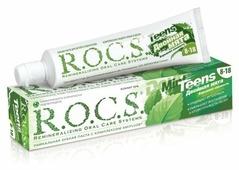 Зубная паста R.O.C.S. Teens Двойная мята 8-18 лет