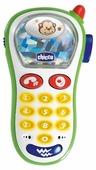 Интерактивная развивающая игрушка Chicco Музыкальный телефон с фотокамерой