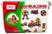 Магнитный конструктор Mag-Building Brain Up GB-W118