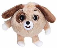 Мягкая игрушка 1 TOY Дразнюка-zooka Собачка коричневая 13 см