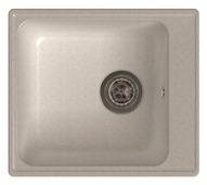 Врезная кухонная мойка GranFest Quarz GF-Z17 42х48см искусственный мрамор