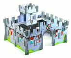 3D-пазл DJECO 3D- Средневековый замок (07703), 31 дет.