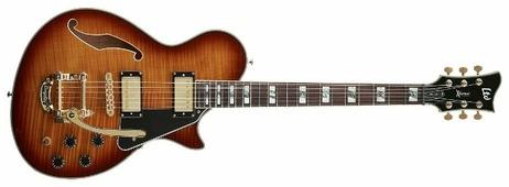 Полуакустическая гитара ESP PC-1V