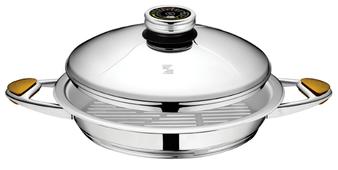 Сковорода-гриль Zepter Masterpiece CookArt Z-V3025Z 30 см с крышкой
