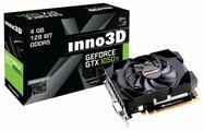 Видеокарта Inno3D GeForce GTX 1050 Ti 1290Mhz PCI-E 3.0 4096Mb 7008Mhz 128 bit DVI HDMI HDCP Compact