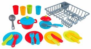 Набор посуды PlayGo с сушкой 3119