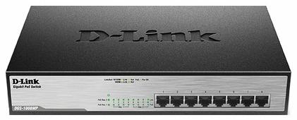Коммутатор D-link DGS-1008MP/A2