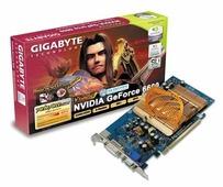 Видеокарта GIGABYTE GeForce 6600 300Mhz PCI-E 256Mb 600Mhz 128 bit DVI TV YPrPb Silent Cool