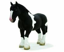 Фигурка Mojo Farmland Лошадь клейдесдальской породы 387085