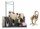 Игровой набор Schleich Душевая для лошади 42104