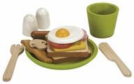 Набор продуктов с посудой PlanToys 3602