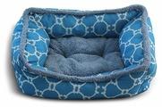 Лежак для кошек, для собак Triol Лазурный берег M прямоугольный 61х48х18 см