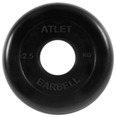 Диск MB Barbell MB-AtletB51 2.5 кг