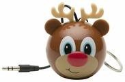 Портативная акустика Kitsound Mini Buddy Reindeer