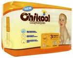 Chikool подгузники XL (12+ кг) 18 шт.