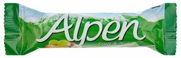 Злаковый батончик Alpen С фруктами и орехами, 28 г