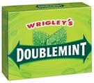 Жевательная резинка Wrigley's Spearmint Doublemint 15 пластинок, 40,5 г