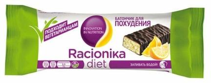 Протеиновый батончик Racionika Diet в шоколадной глазури Апельсин, 50 г