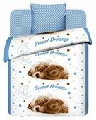 Постельное белье 1.5-спальное Василек Сладкие сны, бязь