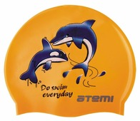 Шапочка для плавания ATEMI PSC401