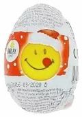 Шоколадное яйцо Zaini Smiley Christmas с игрушкой, молочный шоколад, 35 г