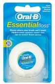 Oral-B зубная нить Essential вощеная