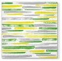Набор салфеток для декупажа Paw Акварельные полосы (зеленый) SDL120206 33х33 см