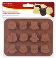 Форма для конфет Мультидом Совы, 12 ячеек
