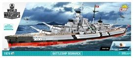 Конструктор Cobi World of Warships 3081 Линкор немецкого военного флота Бисмарк