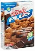 Готовый завтрак Krosby Подушечки Plus на фруктозе с шоколадной начинкой коробка