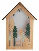 Фигурка NEON-NIGHT Домик в лесу 26 см