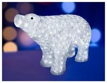 Фигурка NEON-NIGHT Белый медведь 55 см
