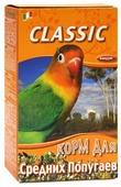 Fiory корм Classic для средних попугаев