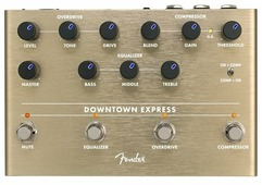 Fender Педаль Downtown Express Bass Multi-Effect