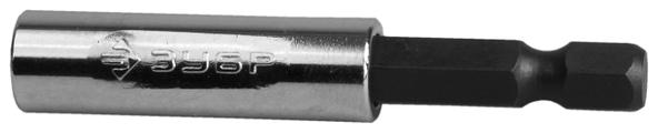 Адаптер для бит ЗУБР магнитный 26711-60