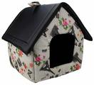 Будка для кошек, для собак Dogman Будка микс средняя 35х35х39 см