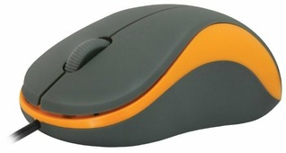 Мышь Defender Accura MS-970 Grey-Orange USB
