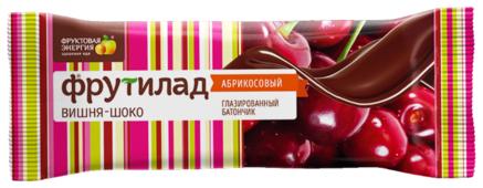 Фруктовый батончик ФРУТИЛАД с вишней в шоколаде 40 г