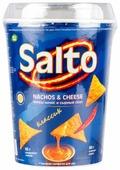 Чипсы Salto кукурузные Начос классик с сырным соусом
