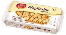 Печенье Gastone Lago Sfogliatine слоёное глазированное с абрикосовым джемом, 135 г