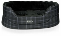 Лежак для собак Scruffs Balmoral Oval M 65х46х23 см