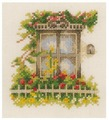 Lanarte Набор для вышивания Окно в цветах - 1 11 x 12 см (0162523-PN)